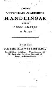 Handlingar. Bd. 1- 1817-1818_kapak