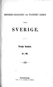 Historiskt-geografiskt och statistiskt lexikon ... 3.bnd_Kapak