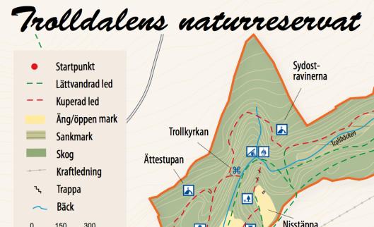 Trolldalenkarta