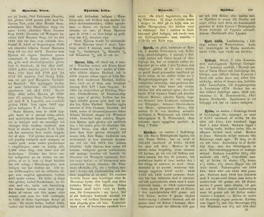 Historiskt-geografiskt och statistiskt lexikon öfver Sverige - Första Bandet. Inledning samt Text A och B-192.193