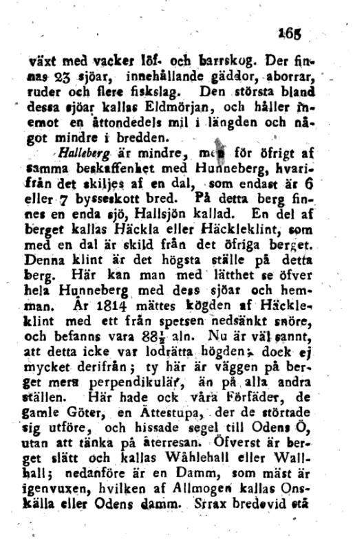 Försök till en korrt Beskrifning om Skara Stift, 5. cilt_s165