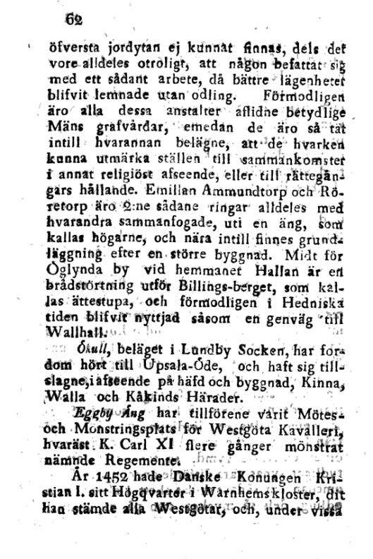 Försök till en korrt Beskrifning om Skara Stift, 5. cilts62